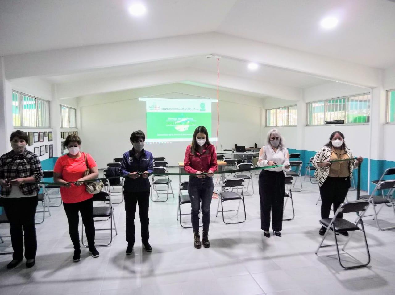 Más de 400 estudiantes beneficiados con infraestructura educativa