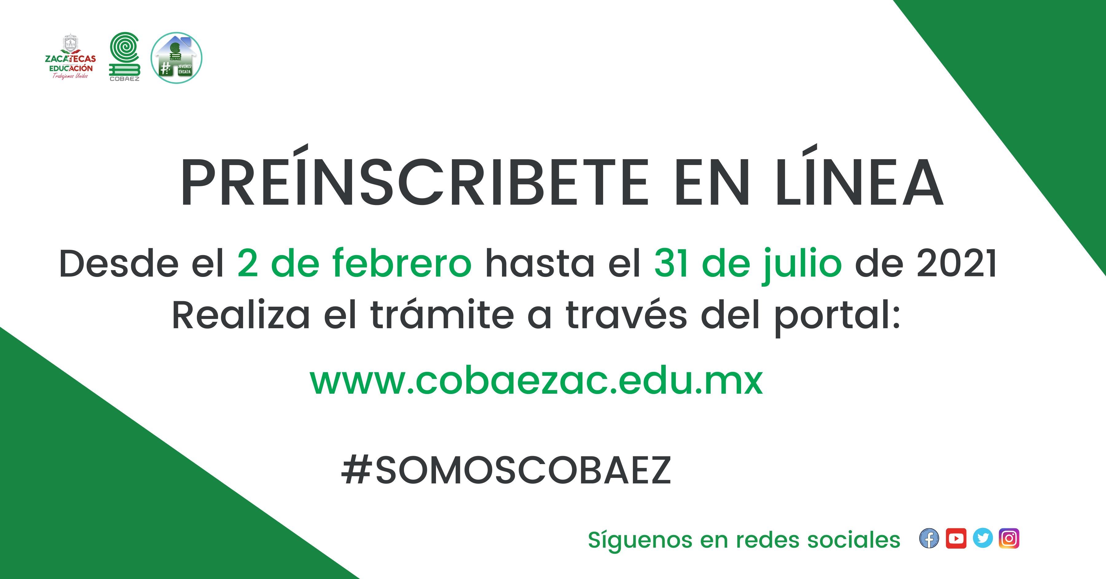 COBAEZ inicia proceso de reinscripción estudiantil