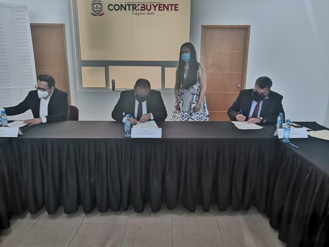 ISSSTEZAC Y COBAEZ FIRMAN ACUERDO CONCLUSIVO; PERMITIRÁ A LA INSTITUCIÓN EDUCATIVA CUBRIR ADEUDO HISTÓRICO