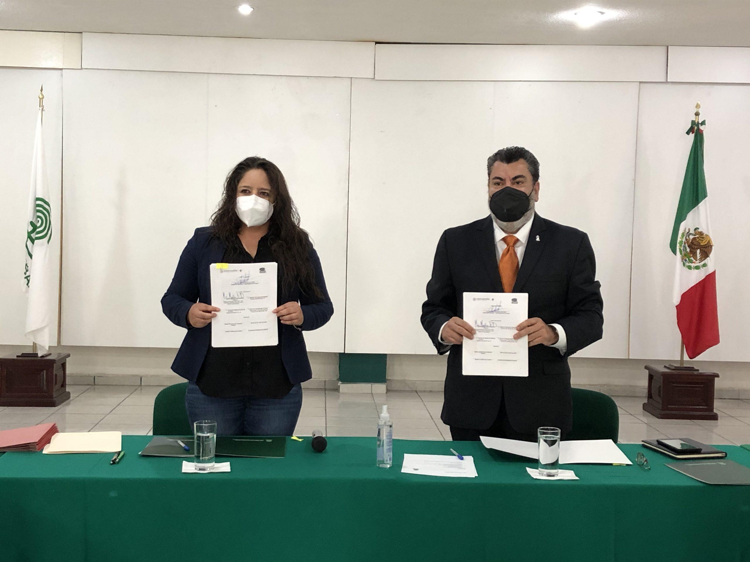 Firman Convenio de colaboración COBAEZ y CECATI