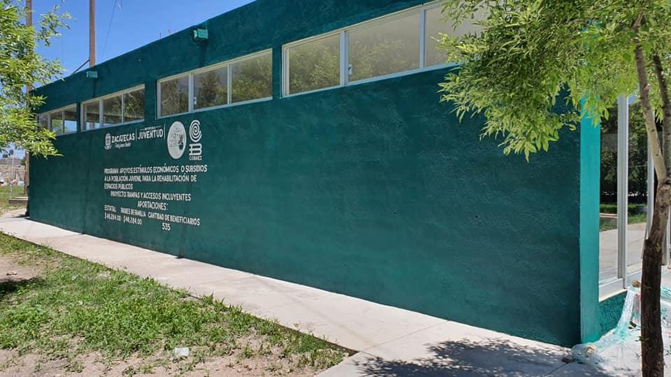 Fortalece COBAEZ instalaciones en planteles